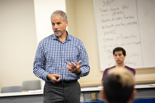 Paul Geisler '87, Professor and Director of Athletic Training Education at Ithaca College