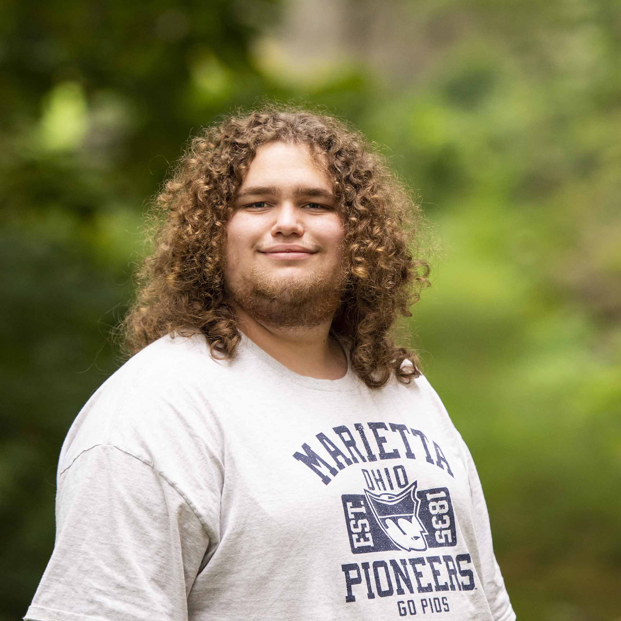 Cole Longcor a student at Marietta College