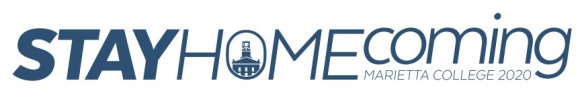 Banner for Marietta College's Stay HOMEcoming 2020