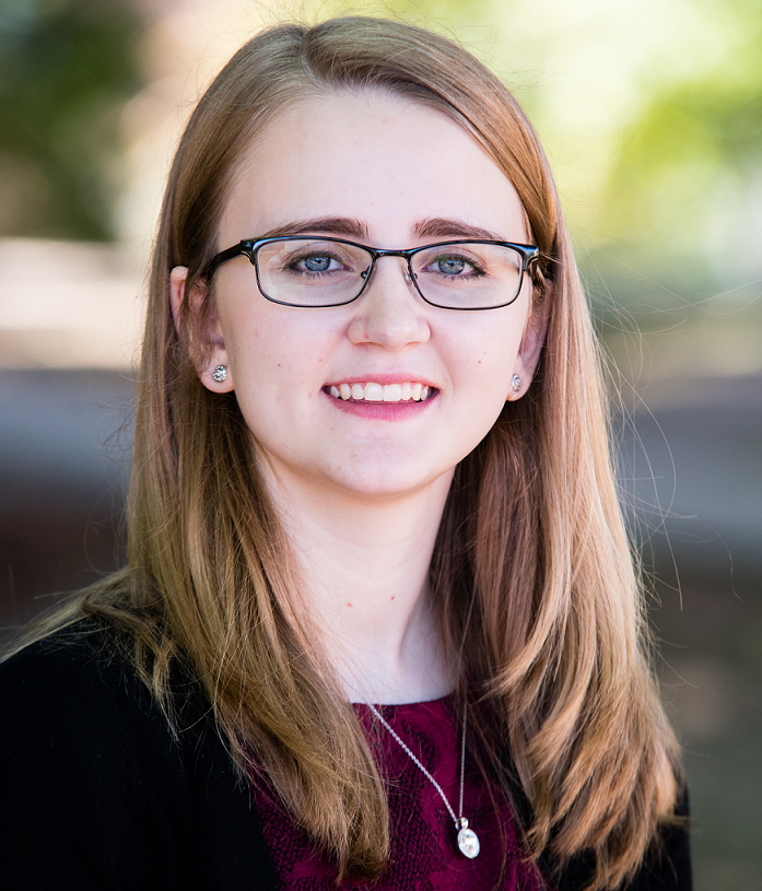 Ashley Klopfenstein '20, sophomore double majoring in Finance and Public Accounting, competed with her business project: Prime Business Resources