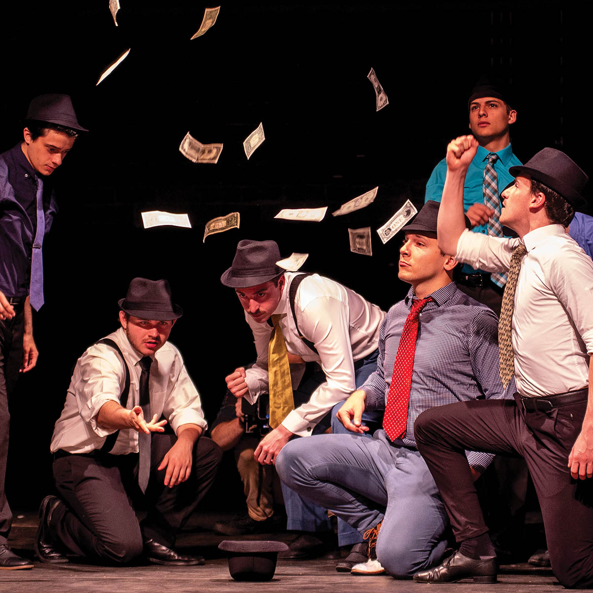 A Peoples Bank Theatre performance of Guys and Dolls