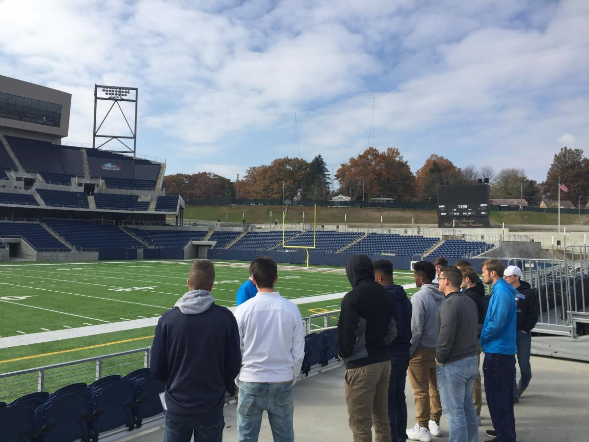 Pro Football Hall of Fame Tour and Job Shadow