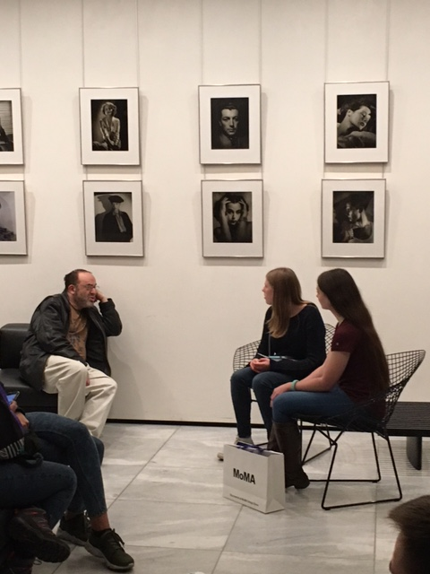 Honors Students In the NYC MOMA