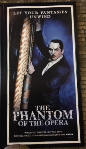 Poster for Phantom of the Opera
