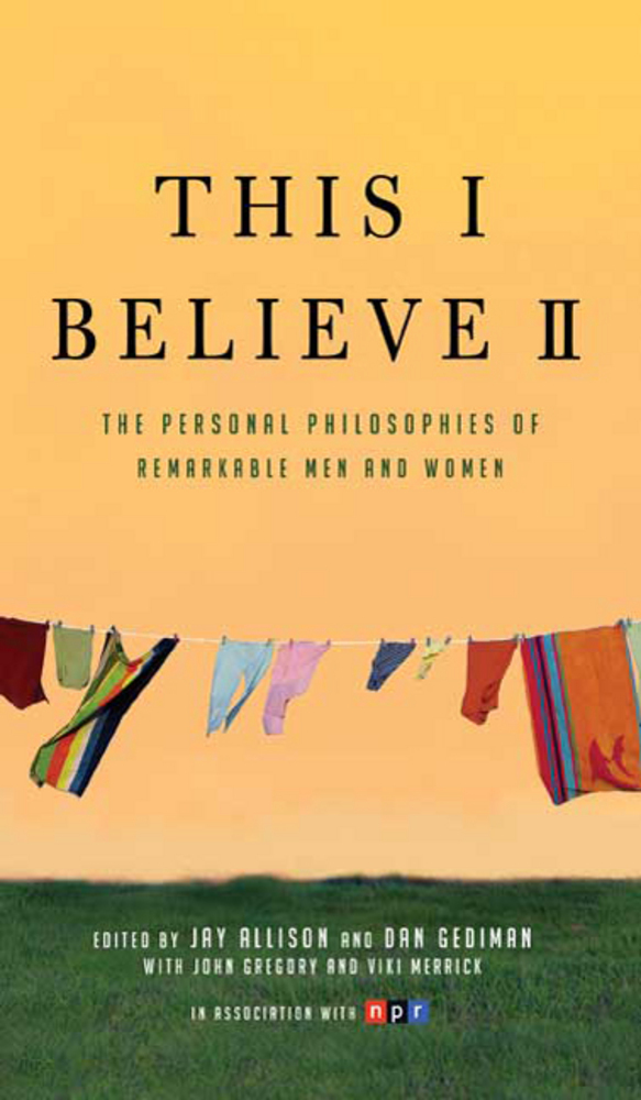 This I Believe II Book