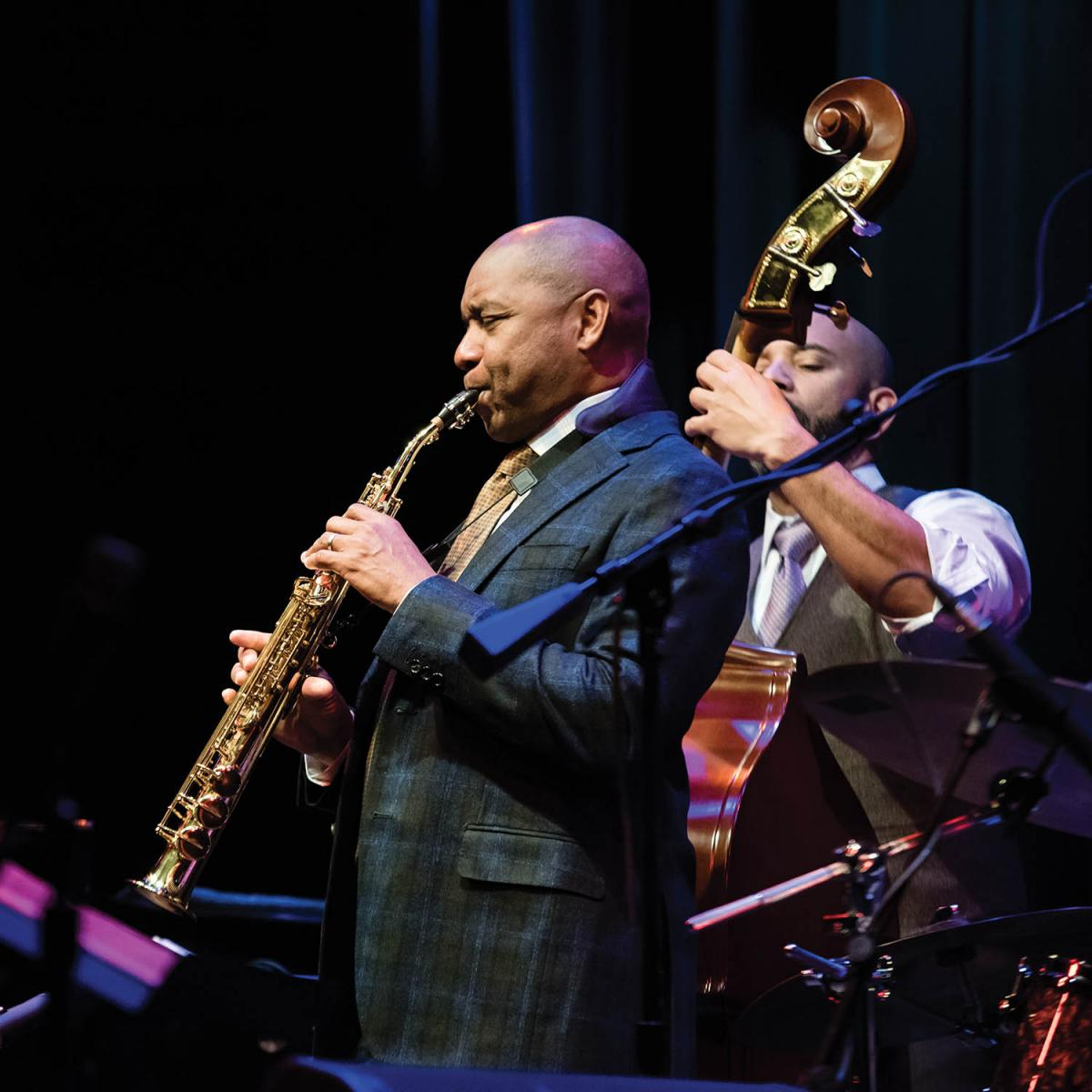 This year's Esbenshade Series brought top talent to the community, including a performance by the Branford Marsalis Quartet with guest vocalist Kurt Elling.