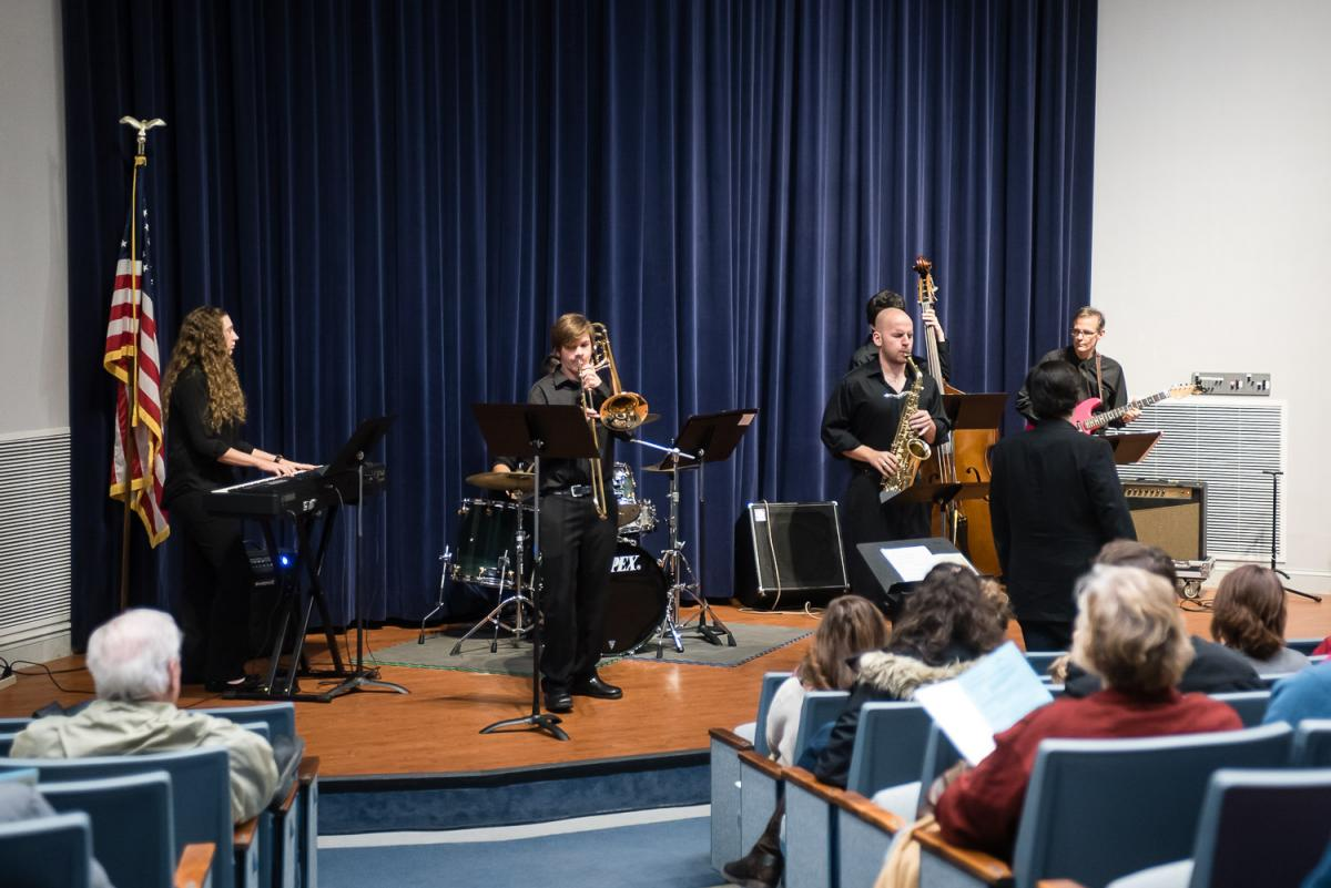 Jazz Ensemble performs at Marietta College