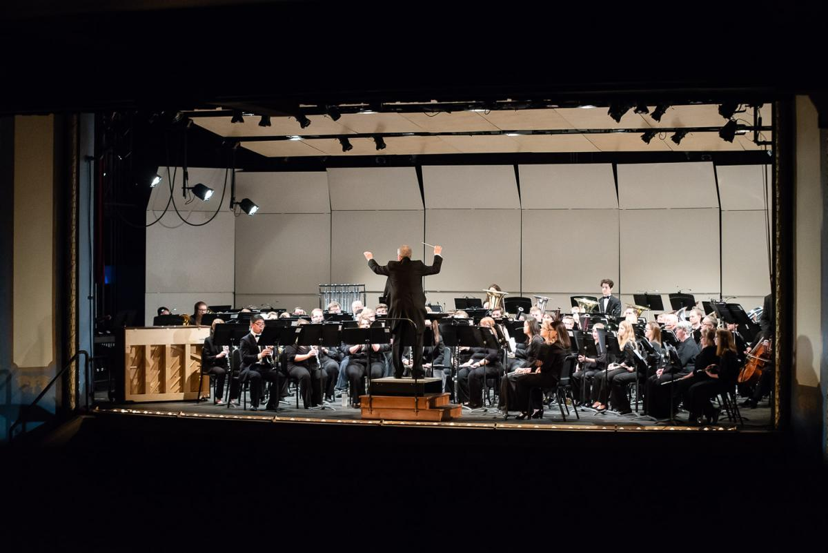 Marietta College Symphonic Band Ensemble