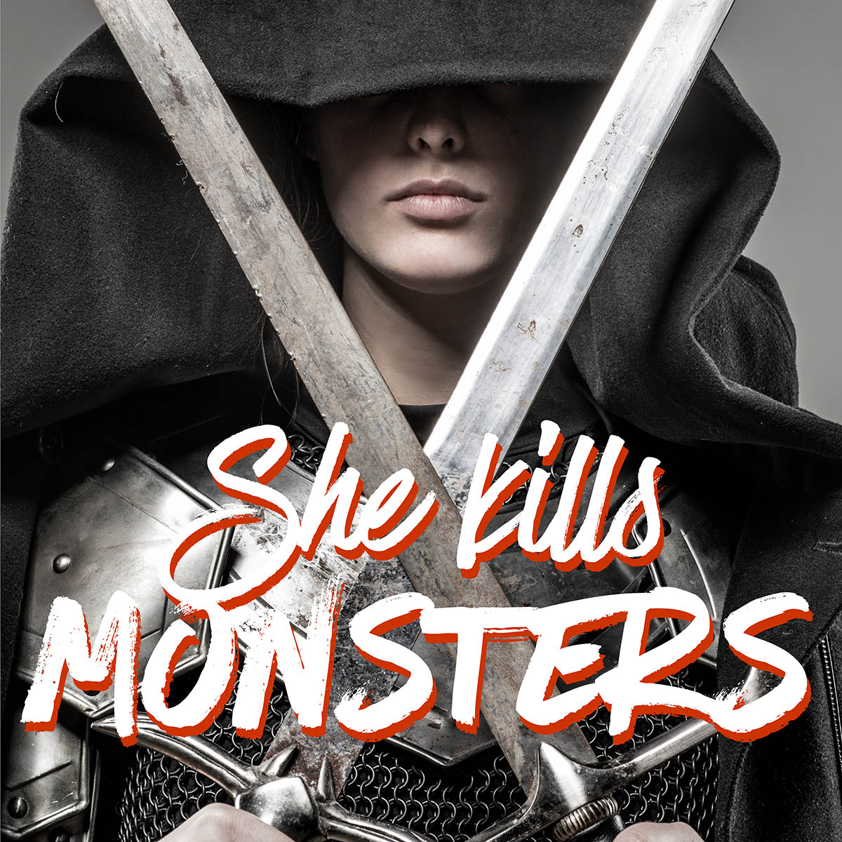 She Kills Monsters logo for the Marietta College's 2019 Theatre Season