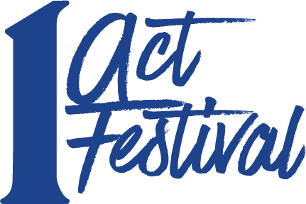 1 act festival logo for the Marietta College's 2019 Theatre Season