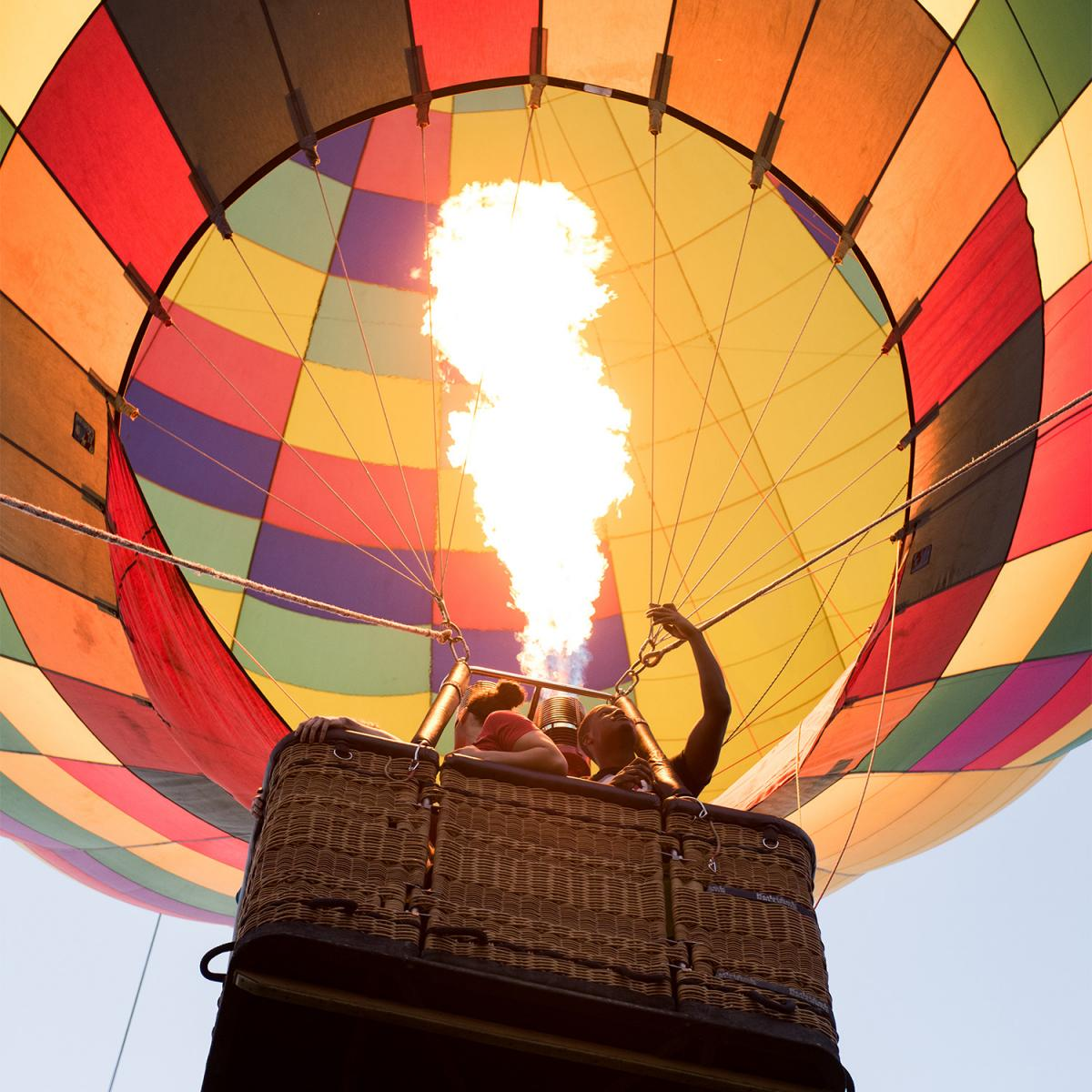 Doo Dah Day hot air balloon