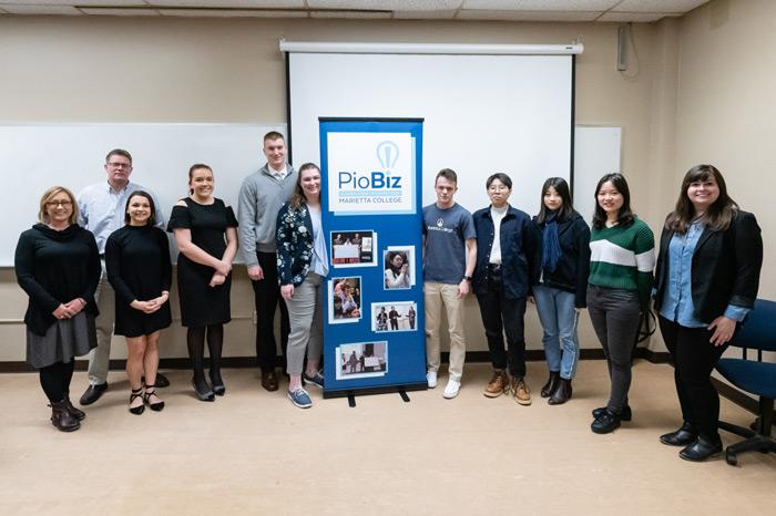 PioBiz 2019 Round 2 WInners and Judges