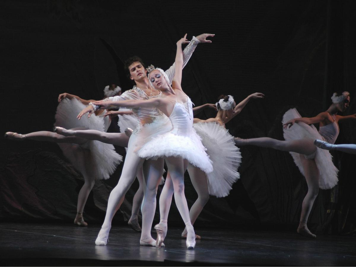 Russian National Ballet on stage