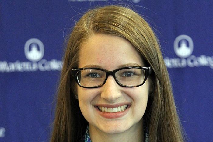 SGA President Paige Berschet