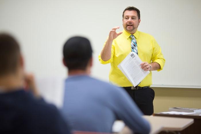 Rick Smith teaching class
