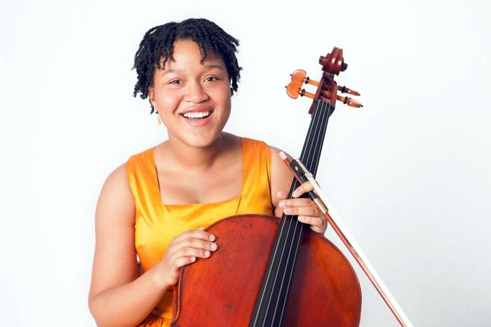 Cellist Sujari Britt