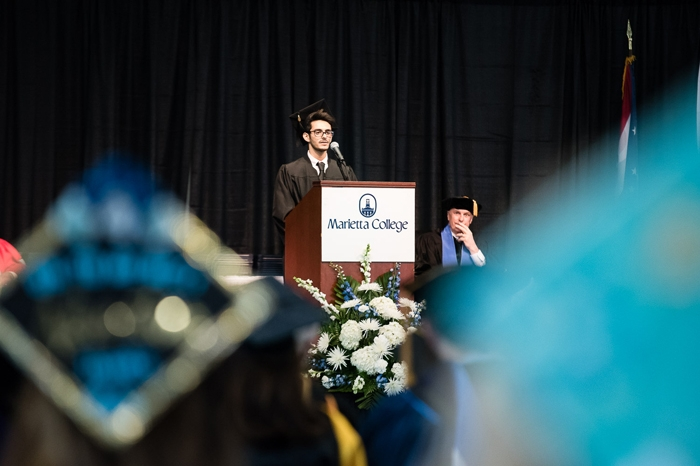 Speaker at Commencement in 2017