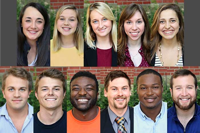 photos of the 2016 homecoming court