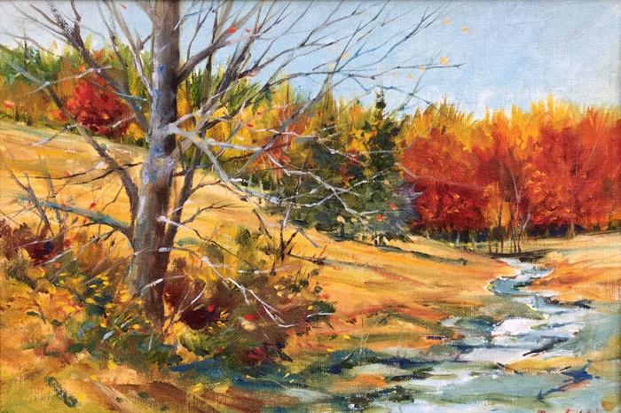 William Gerhold painting