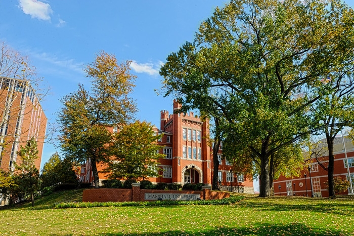 Old Main at Marshall University