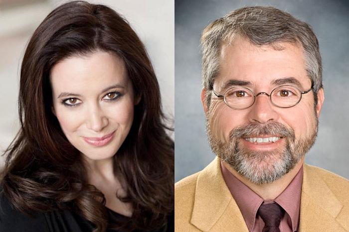 headshots of Carol Roth and Chip Pickering