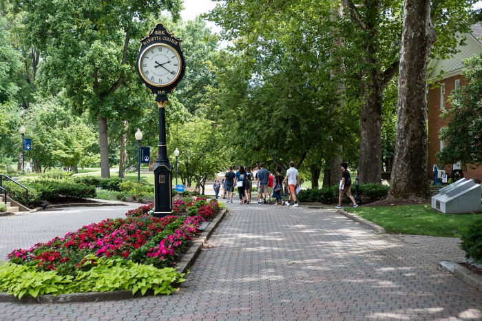 The Christy Mall at Marietta College