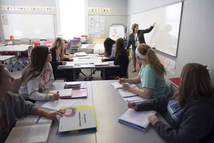 Education classroom in Erwin