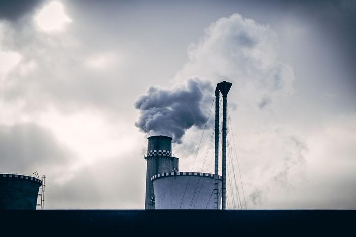 pollution smoke stack