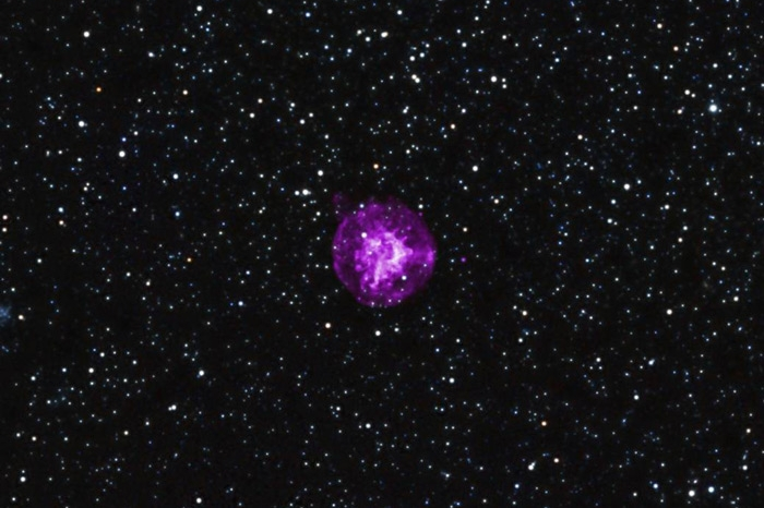 NASA photo of a supernova