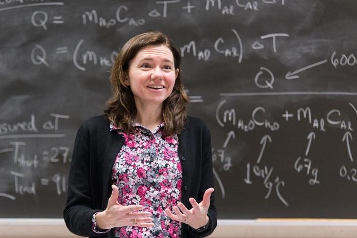 Ann Bragg teaching in a classroom