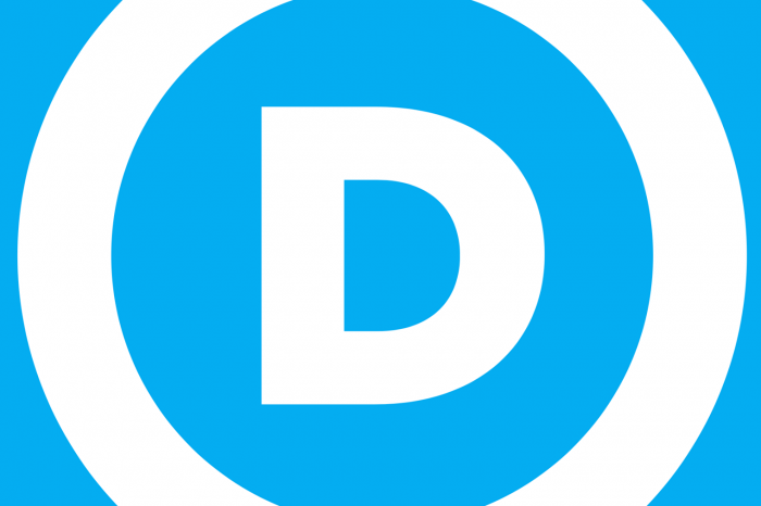 Democratic Party logo - D in a circle