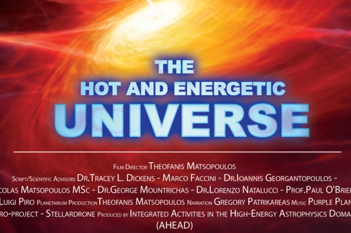 Image from trailer of Hot and Energetic Universe