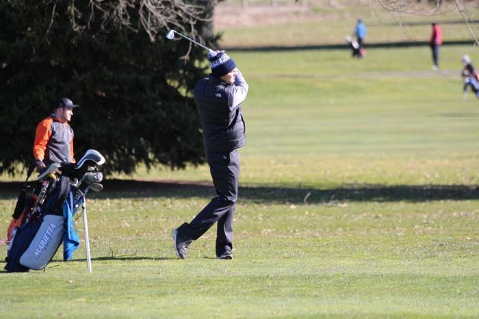 Marietta men's golfer at Country Club