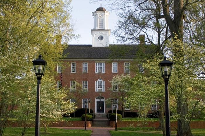 Ohio University's Cutler Hall