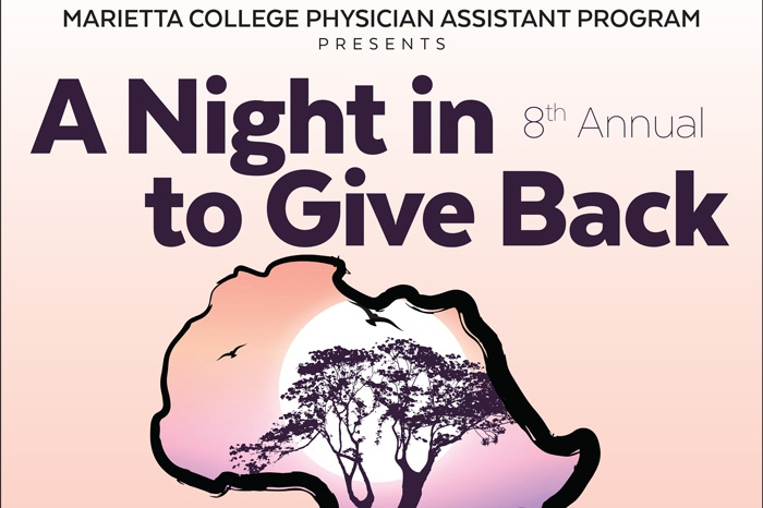 Night in to Give Back poster
