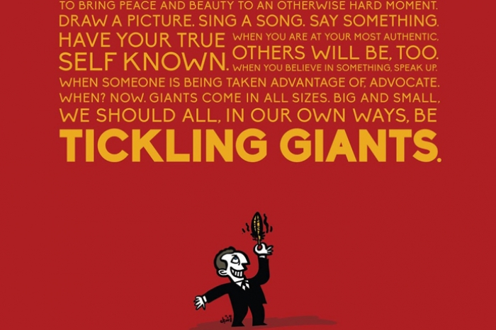 Promo for Tickling Giants