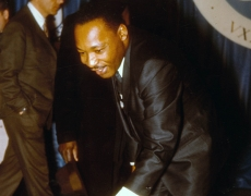 Martin Luther King Jr. at Marietta College in 1968