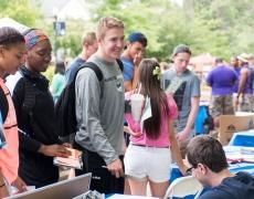 Marietta College's 2016 Involvement Fair