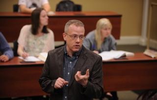Rob McManus teaching