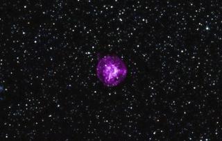 NASA photo of a supernova