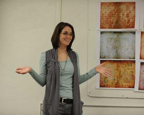 Sara Alway Rosenstock teaching