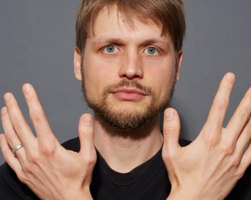 Grisha Krivchenia portrait