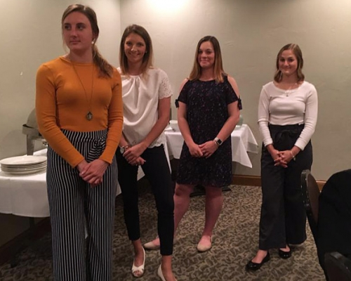 Lambda Pi Eta inductees for 2019