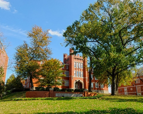 Old Main at Marshall University