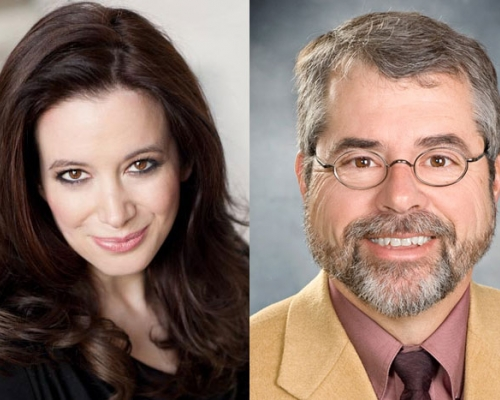 headshots of Carol Roth and Chip Pickering