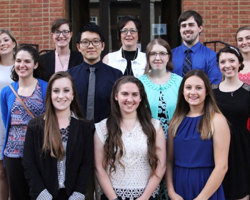 2017 Phi Beta Kappa inductees
