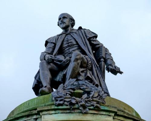 Statue of William Shakespeare