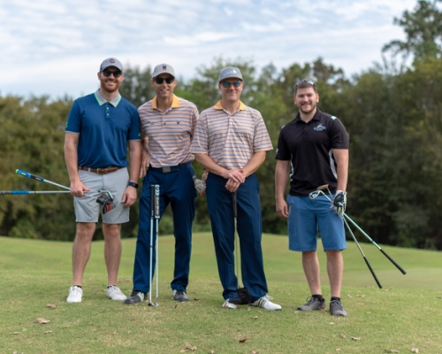 Alumni at the Eastern Texas Regional Association golf outing