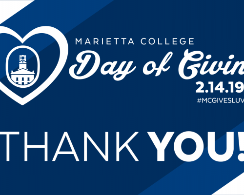 Day of Giving - Thanks banner