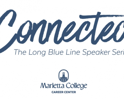 Logo the The Long Blue Line Speaker Series